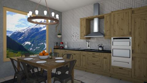 IP Artisan Kitchen - Kitchen - by avawrightthewrightone