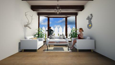 Rustic - Rustic - Living room - by PaxAmor