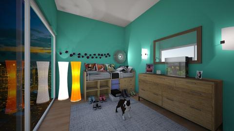 Urban bedroom - Bedroom - by lashim