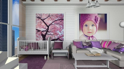 Apartment Nursery - Modern - Kids room - by deleted_1513655778_Valencey14