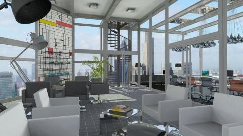 Business centre - Modern - Office - by XValidze