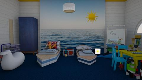 Sea of tranquility  - Kids room - by Tree Nut