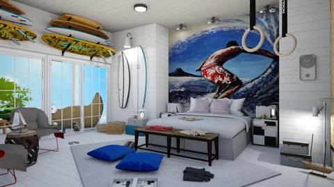 Surf Culture Bedroom - Bedroom - by matina1976