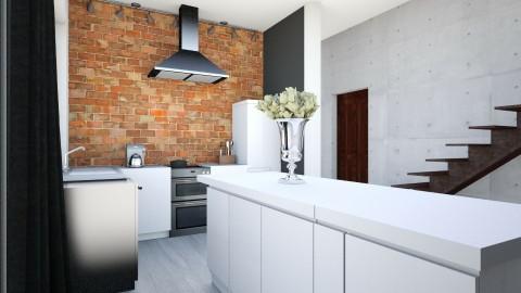 zw - Retro - Kitchen - by ewcia11115555