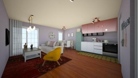 living room homeeee - Living room - by maria m