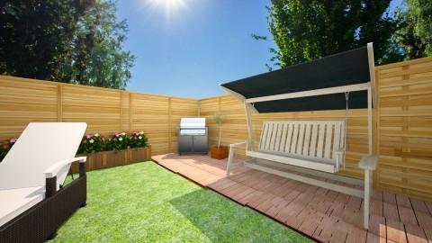 tuin hoek5 - Garden - by smuldersfleur