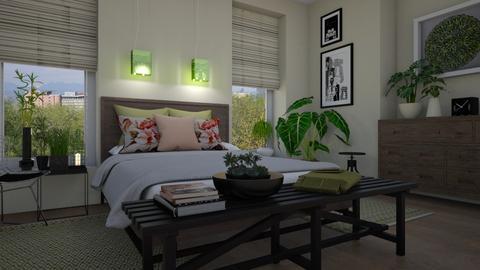 Urban jungle - Bedroom - by Tuija