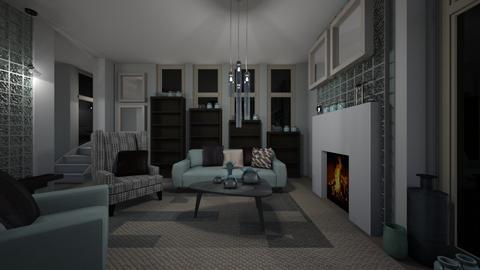 Comfortable Living - Modern - Living room - by XiraFizade