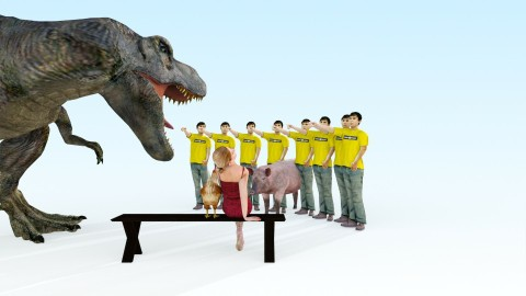 Jurassic Park - Classic - Kids room - by Roger Sun