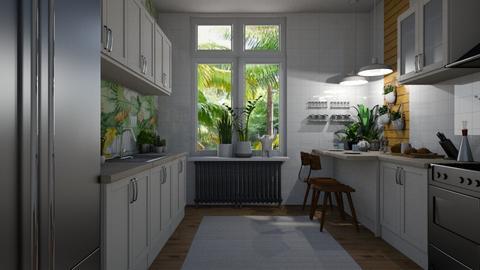 UKitchen - Kitchen - by rickglassinteriors