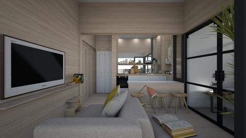 Casa326LivingAndDining - Modern - Living room - by nickynunes