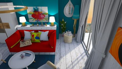 Small colourful  - Modern - Living room - by augustmoon