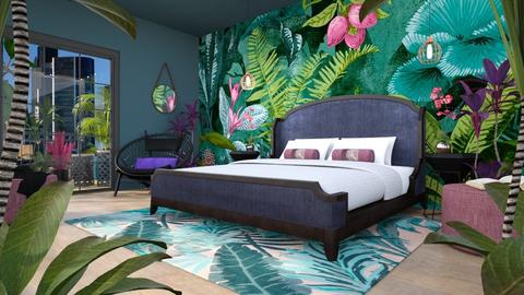 Urban Jungle - Bedroom - by Chiara Amadei