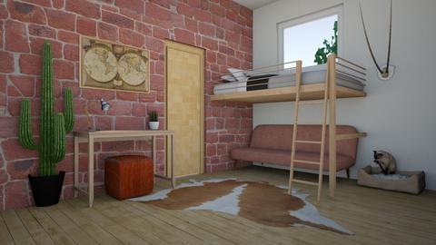 Small room - Minimal - Bedroom - by kbaj