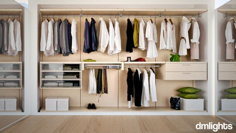Bedroom Closet - Bedroom - by DMLights-user-1222801