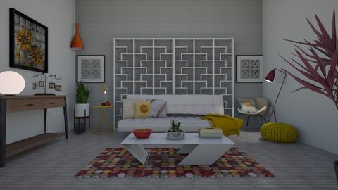 Mid Century Modern - Living room - by Anna Neeb