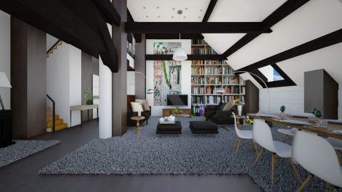 my dream home - Modern - Living room - by sometimes i am here