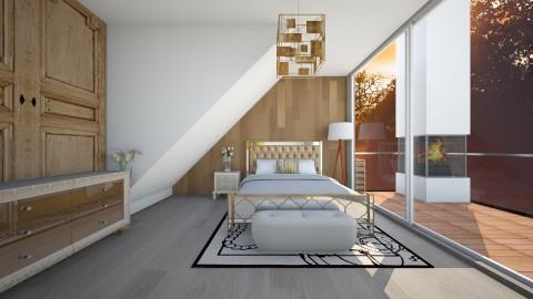 Loft bedroom - Rustic - Bedroom - by megan1159