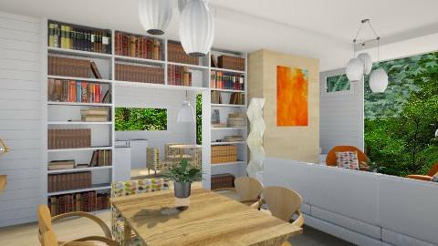 Mid Century Modern II - Vintage - Living room - by Baustin