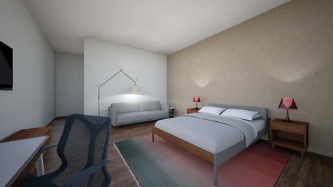 Miguel Antor propuesta - Bedroom - by karlitajmlm