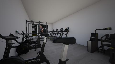 My work out gym - Modern - by Erin DeLand