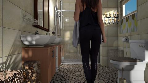MC bathroom - Bathroom - by BortikZemec