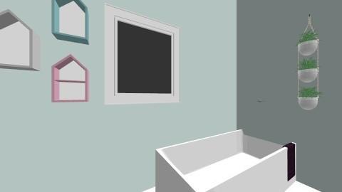bathroom - by Kiwislimes