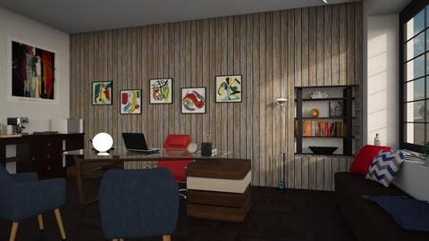 The man office - Living room - by SZdesing