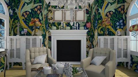 art novou  - Living room - by Astriid Ramos