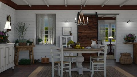 Old House Old Wood - Dining room - by GraceKathryn