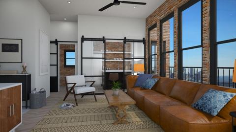 Haring Hipster - Living room - by lauren_murphy