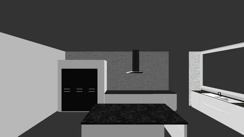 5 Ironwood Kitchen Opt A - Kitchen - by Laura Watts