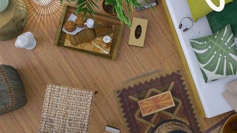 Botanical 2019 template - Living room - by LaModeCeleste