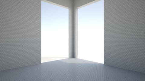 Hexagonal WHITE - by TV Renders