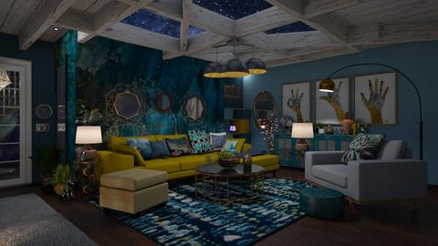 BLOG 1 VINCENT - Living room - by paobanegas