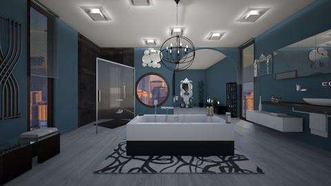 Contemporary Bathroom - by amwerner