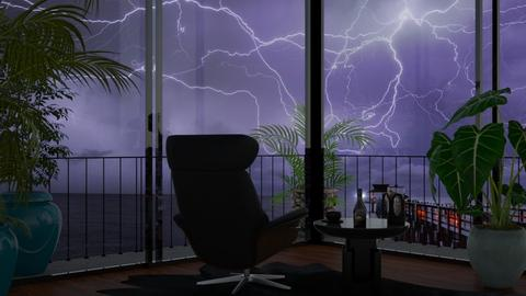 Stormy - Living room - by Jade Autumn