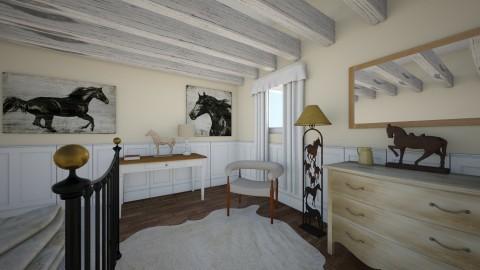 Horse Love - Rustic - Bedroom - by LaughingDonut