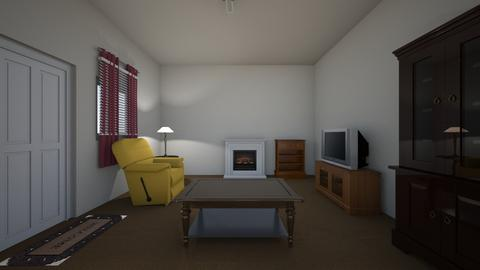 Small House - Living room - by WestVirginiaRebel