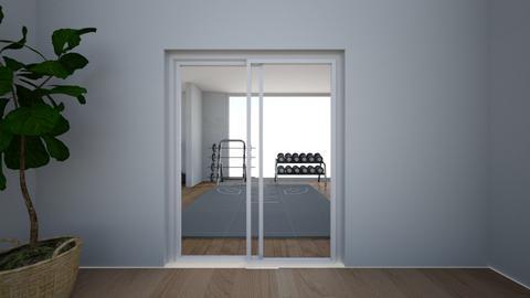 Resort Gym Enterance  - by averygrace06