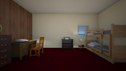 Amaro Upstairs Room - Bedroom - by WestVirginiaRebel