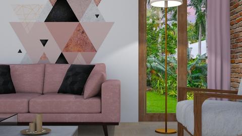 Feminine Geometric - Modern - Living room - by MissREZA