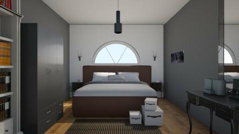 mans bedroom - Bedroom - by vickyreed24