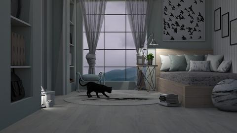 Cloudy room - Bedroom - by Amorum X