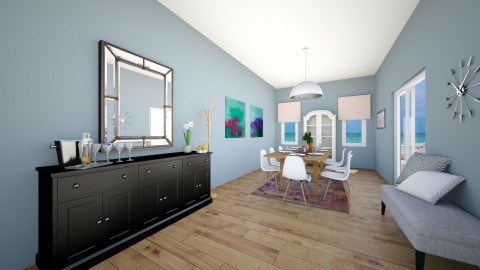 ContemporaryDining Room 1 - Classic - Dining room - by isabella11111