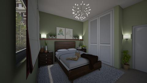 Bedroom Paint_For Apartmt - Bedroom - by ayudewi382