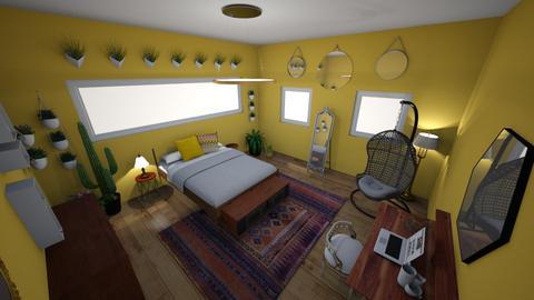 sunny plant room - by ariematia