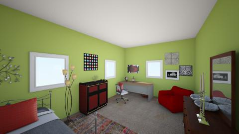 bedroom - Global - Bedroom - by Felizia