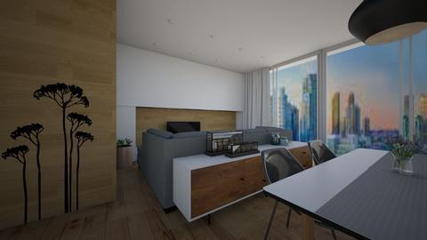 Living room - Minimal - Living room - by Zosia Zakrzowska