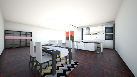 Modern Part1 - Modern - Kitchen - by meri_4life